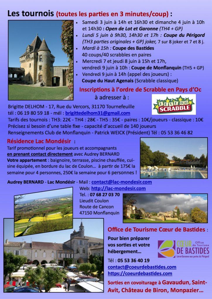 Festival de Lot et Garonne 2017 Verso